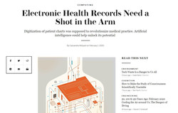 EHR Needs a Shot in the Arm