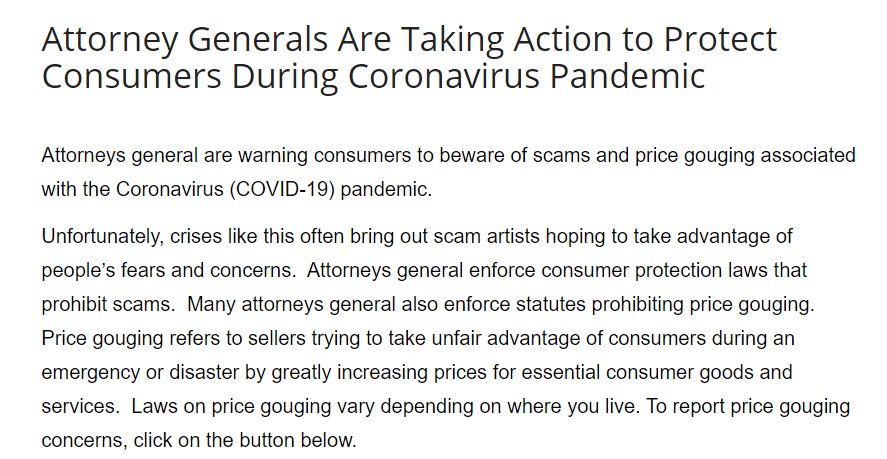 Consumer Reports Covid-19 Updates