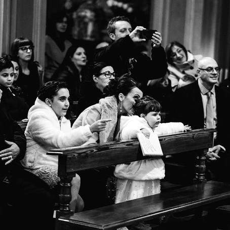 Il battesimo di Cristina