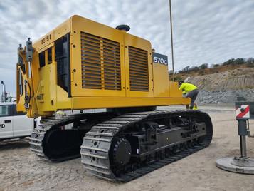 John Deere 670G Excavator Base