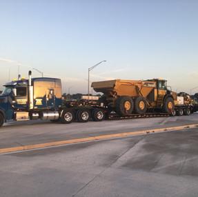 John Deere 410E Dump Truck