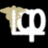 ICP Logo_Caduceus_WHITE&GOLD_NOBACKGROUN
