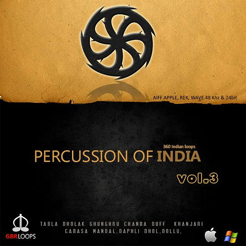 Percussion Of India Vol.3