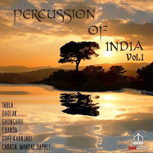 Percussion Of India Vol.1