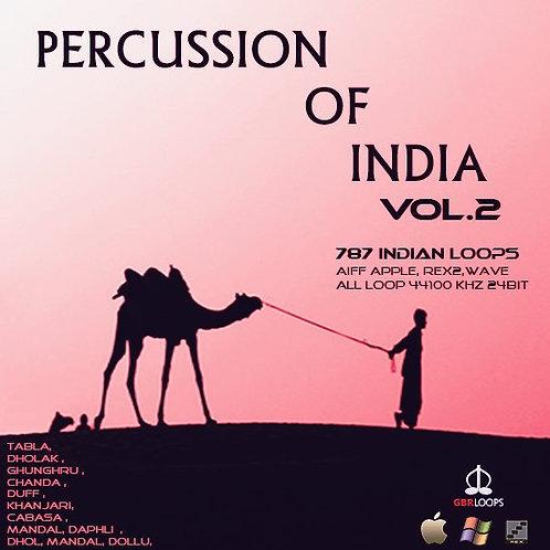 Percussion Of India Vol.2