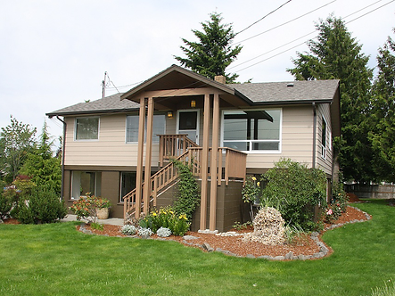 Porch Roof Addition and Color Design