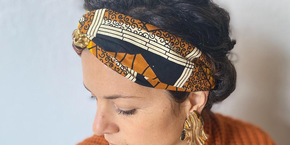 Afterwork création d'un headband