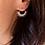 Thumbnail: Boucles d'oreilles Bali medium argent
