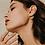 Thumbnail: Les Boucles d'oreilles Bali maxi dorées