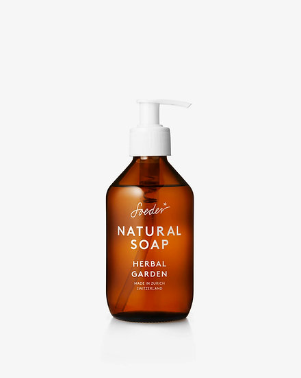 "Savon liquide naturel ""herbal garden"""