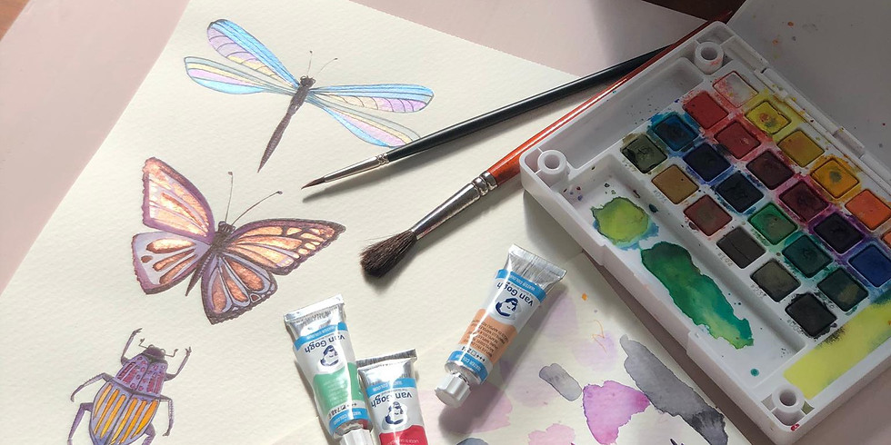Illustration papillons