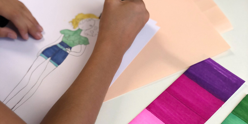Introduction au dessin de mode pour enfants COMPLET