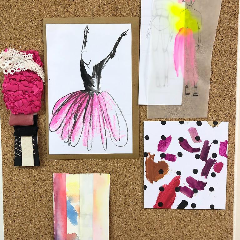 Atelier dessin de mode pour enfants et ados