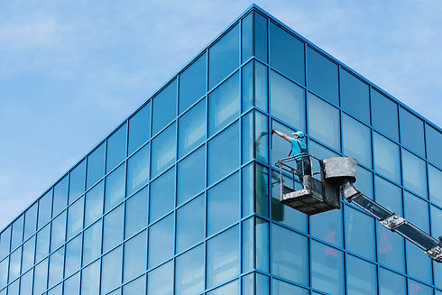 Commercial Cleaning Windows and Glass -