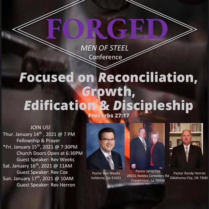 FORGED Men's Conference