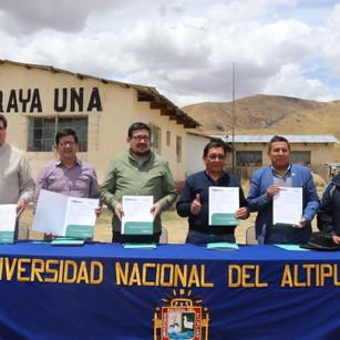 Nuevos laboratorios, equipamiento especializado y mobiliario para la investigación de camélidos sudamericandos la UNAP - PUNO