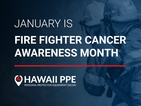 Fire Fighter Cancer Awareness Month