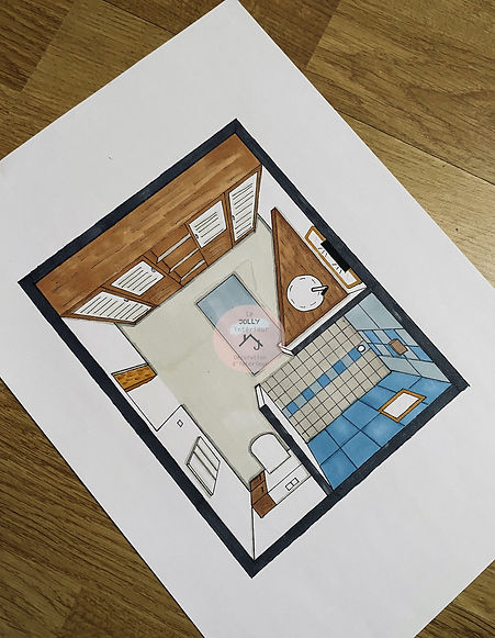 Aménagement salle de bain, lejollyinteri