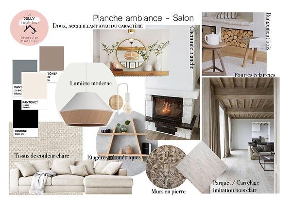 Salon planche ambiance lejollyinterieur.