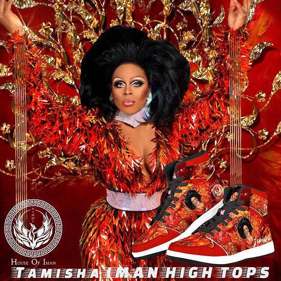 """Tamisha Iman """"Phoenix"""" High Top Sneakers - Limited Edition"""