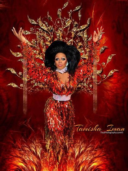 "Tamisha Iman Limited Edition ""Phoenix Rising"" Autographed Promo"