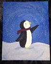 snowy penguin on canvas.jpg