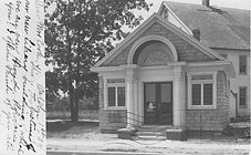 first Amityville Public Library building