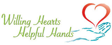 willing hearts helpful hands logo