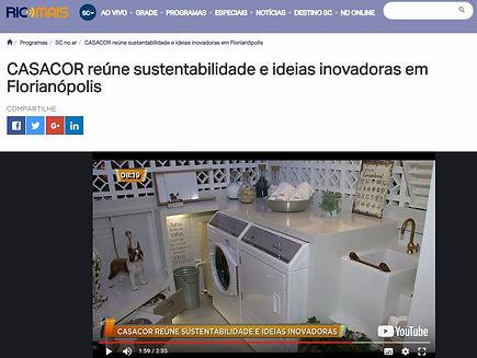 A Lavanderia! da Infinitah! projetos na CASACOR SC Florianópolis 2018