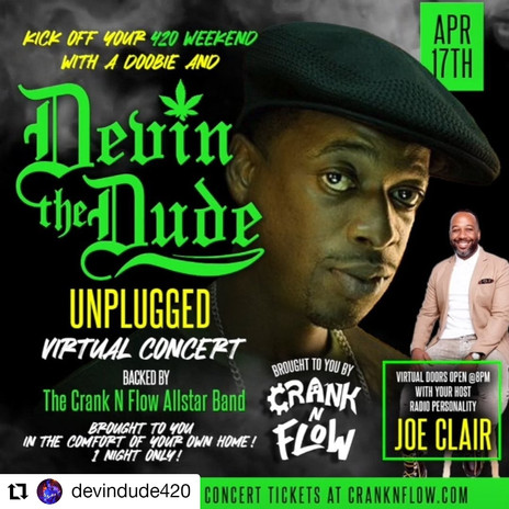 Devin the Dude and Host Joe Clair