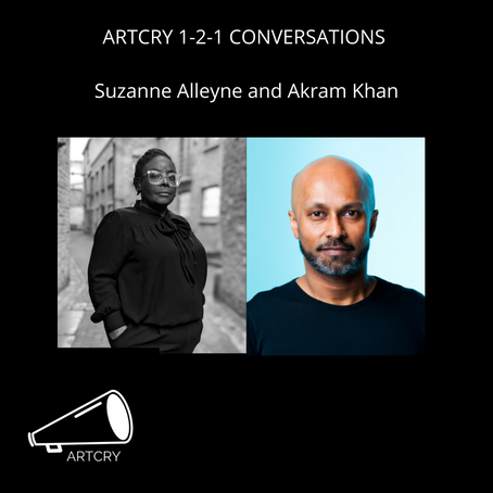 Akram Khan and Suzanne Alleyne