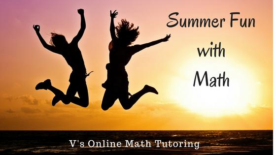 Summer fun with Online Math Tutoring