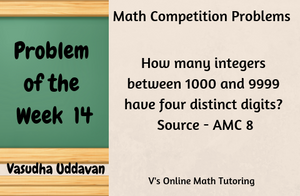 Math Competition Problems - Problem of the Week - 14