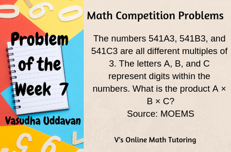 Problem of the Week 7