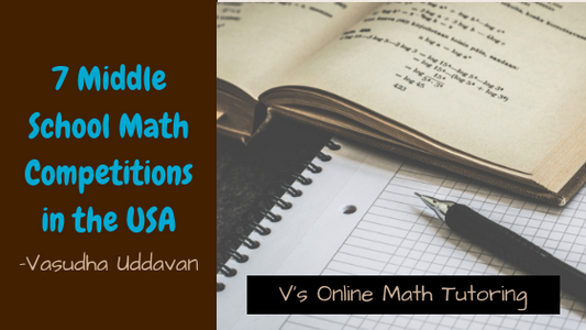 7 Middle School Math Competitions in the USA