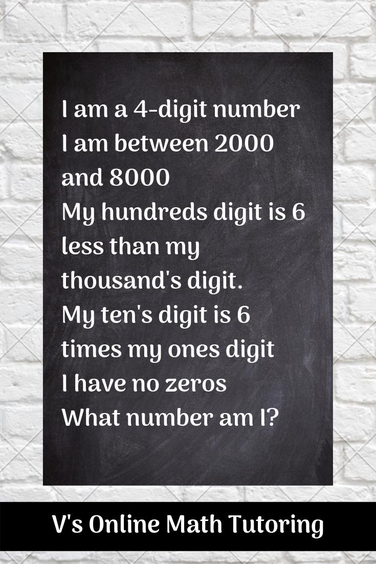 Math Problem for grades 3-5