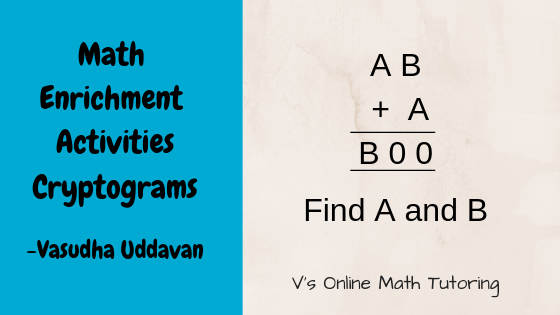 Cryptogram puzzles for Elementary and Middle School Kids