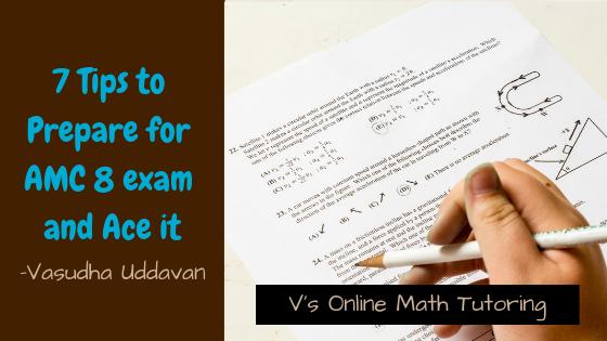 7 Tips to prepare for AMC 8 exam