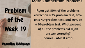 Math Competition Problems - Problem of the Week - 19