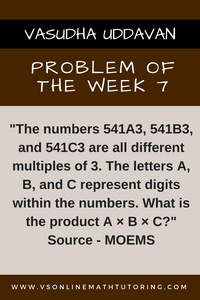 Problem of the Week - 7