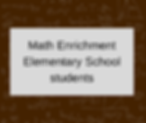 Math Enrichment for Elementary School.pn