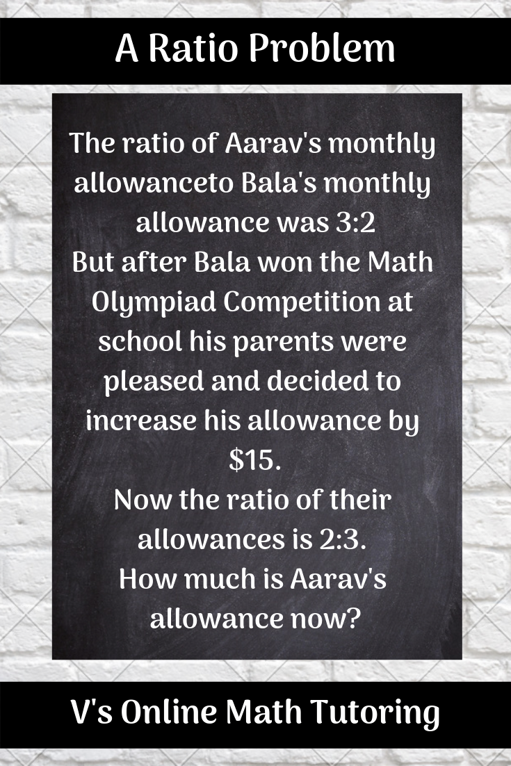 An allowance ratio problem