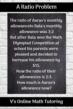 An allowance ratio problem