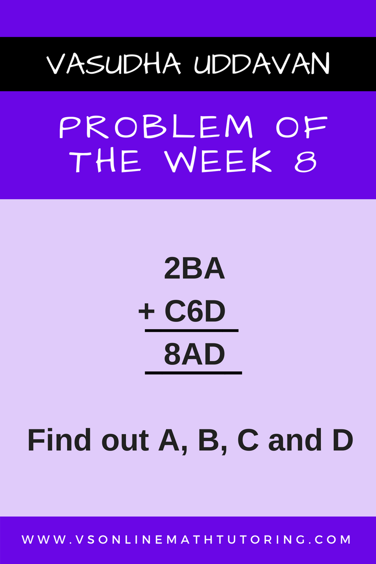 Problem of the week - 8