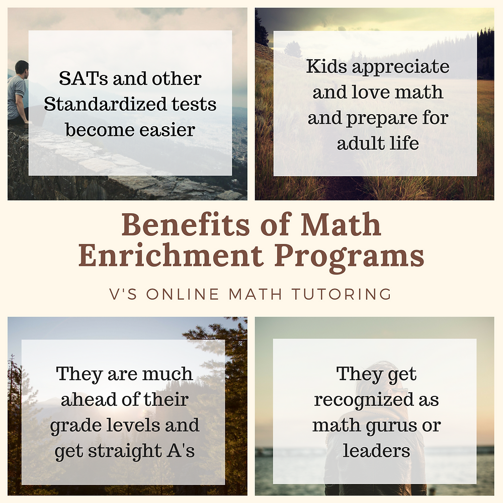 Can Math Enrichment Programs Really Help My Child?