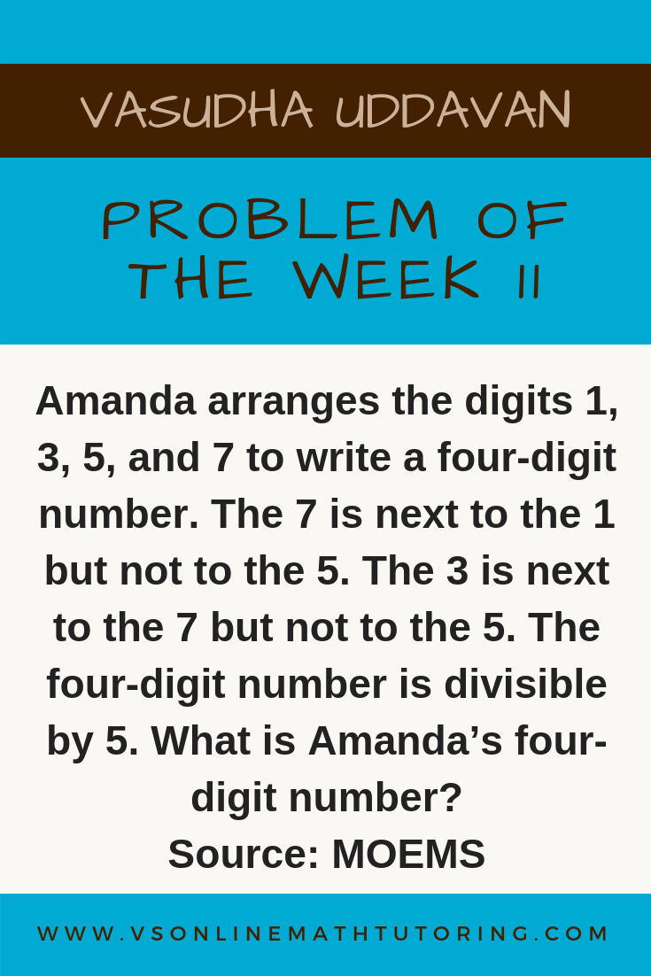Math Olympiad Problem - Problem of the week #11