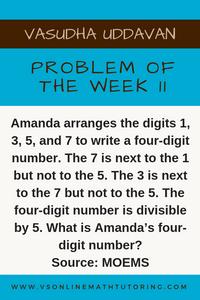 Math Olympiad Problem - Problem of the week #11