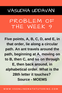 Problem of the Week 9