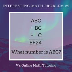 Math Problem for grades 4-6