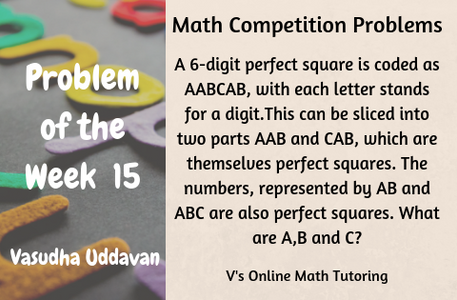 Math Competition Problems - Problem of the Week 15